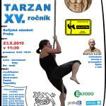 Modřanský Tarzan 2015 - plakát