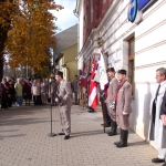 Odhalení pamětní tabule Bedřicha Šupčíka ve Kvasicích - otevření