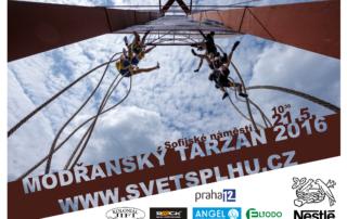 Modřanský Tarzan 2016 - Plakát