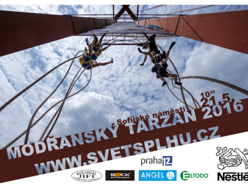 Modřanský Tarzan 2016: slunečný závod