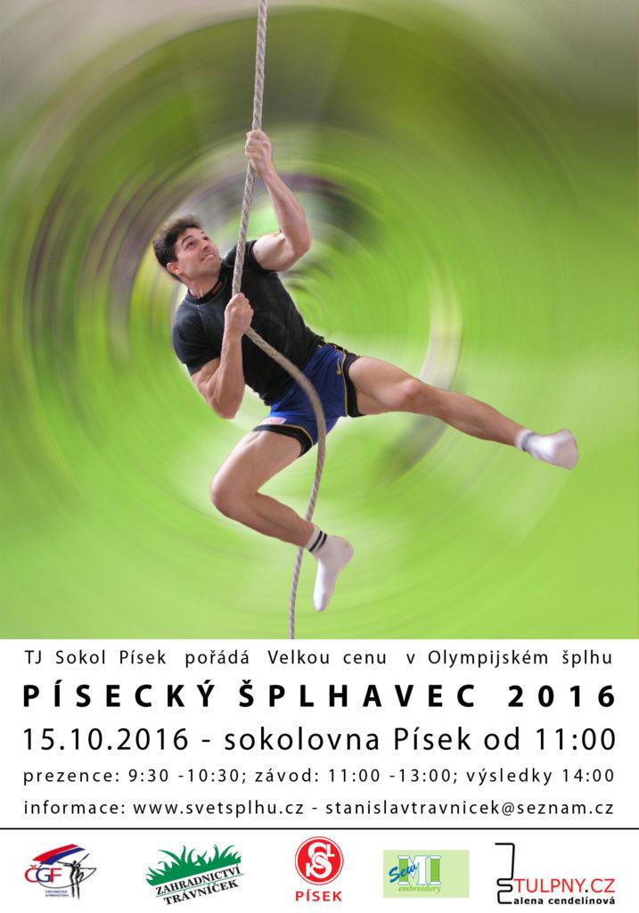 VC Písecký šplhavec 2016 - plakát