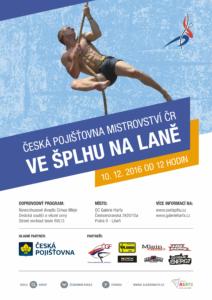 Česká pojišťovna Mistrovství České republiky 2016 - plakát