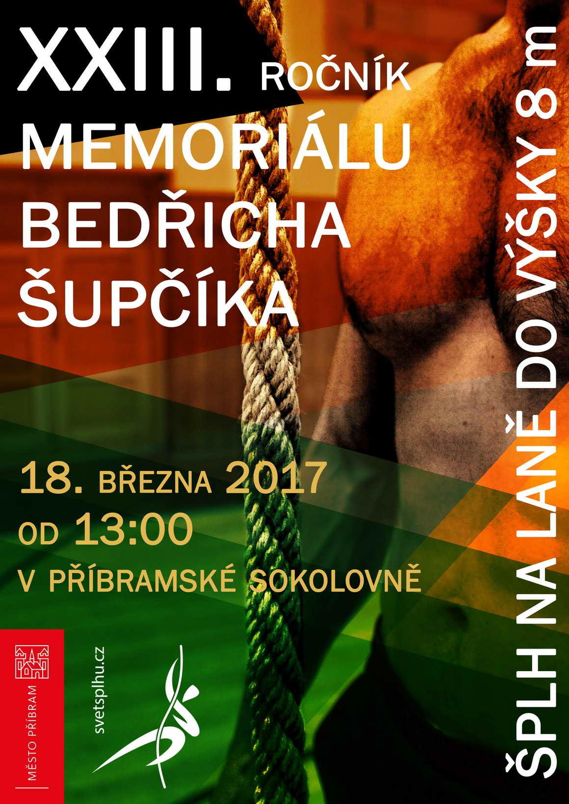 VC Memoriál Bedřicha Šupčíka 2017 - plakát