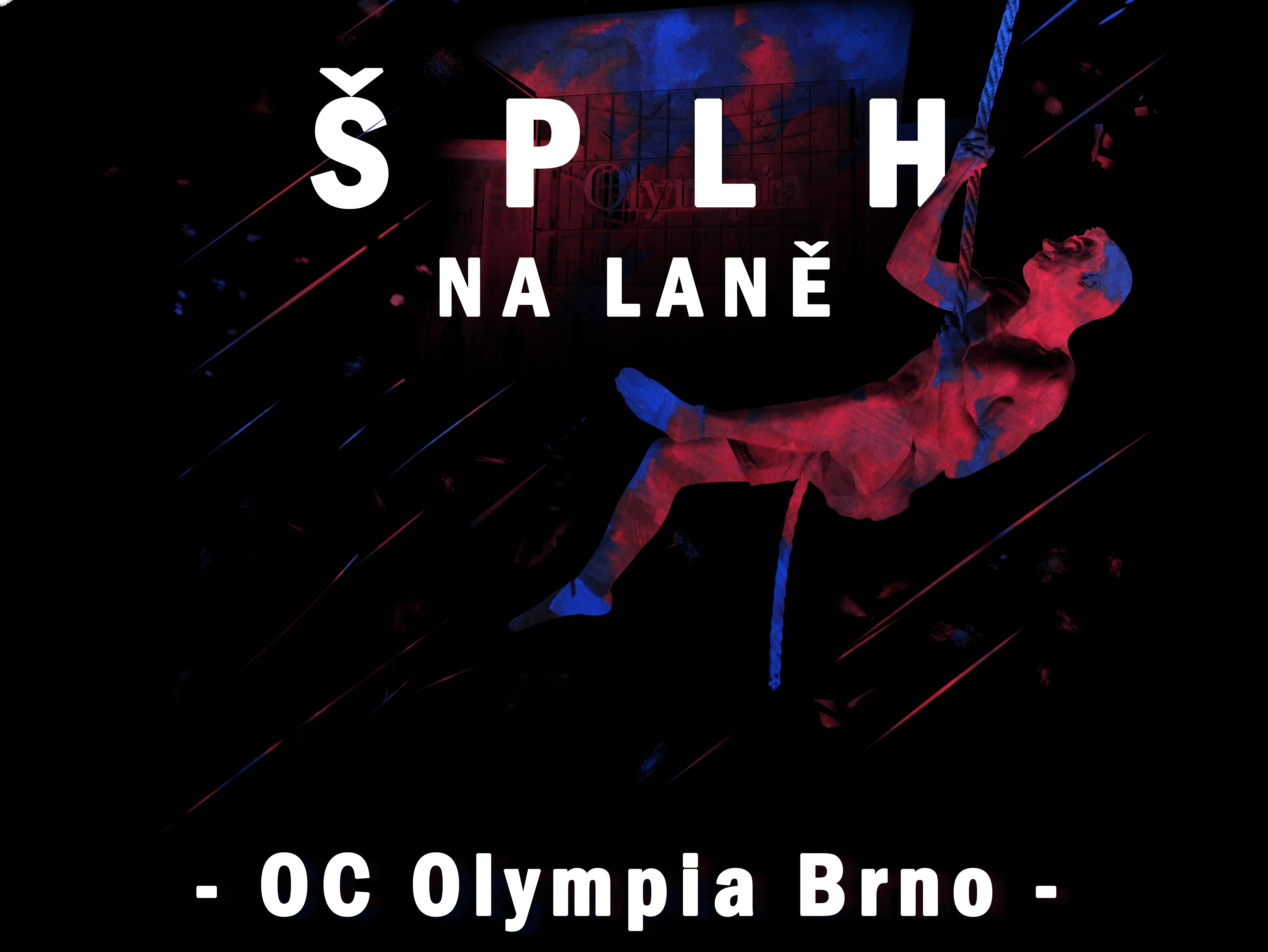 Šplh na laně v Olympii 2017 - plakát