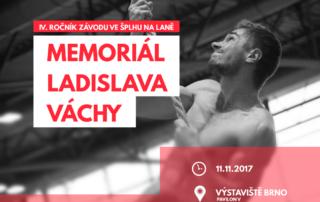 VC Memoriál Ladislava Váchy 2017 - Brno - plakát