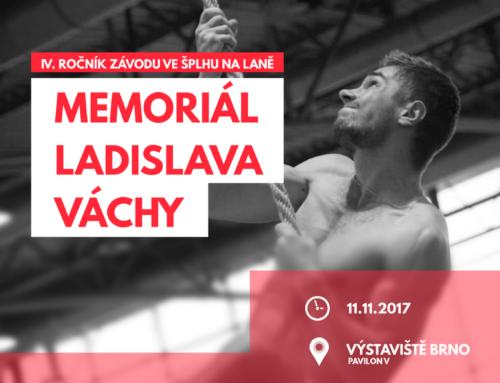 Memoriál Ladislava Váchy 2017 – SportLife – Brno proti zbytku a dorostenecký rekord