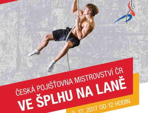 Česká pojišťovna Mistrovství České republiky ve šplhu na laně 2017 – propozice/přihláška