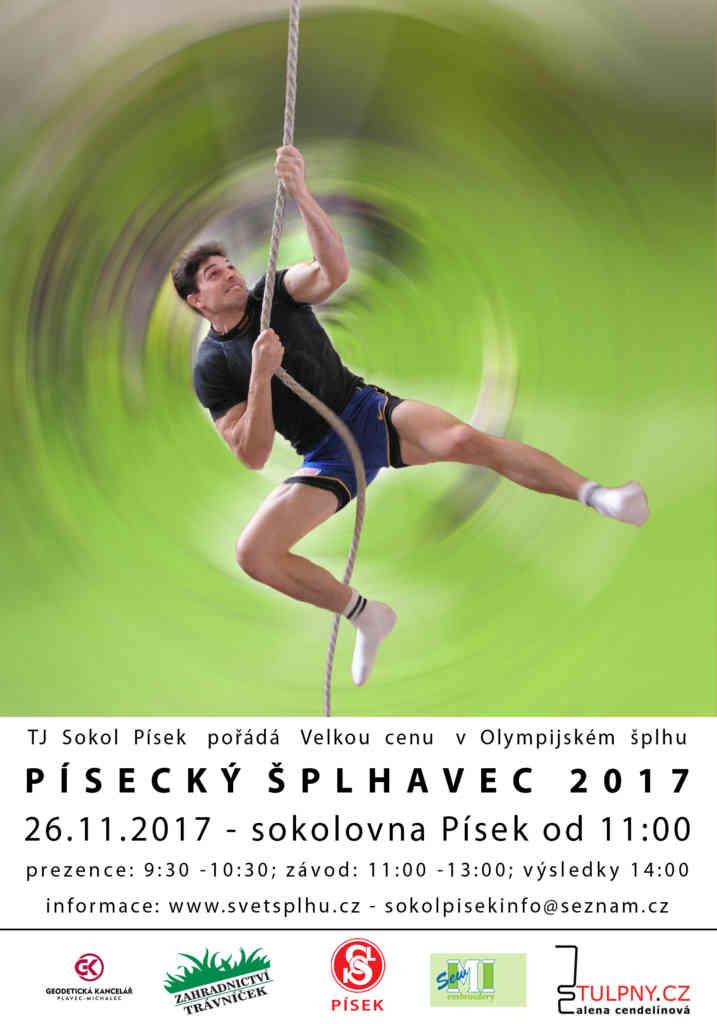 VC Písecký šplhavec 2017 - plakát