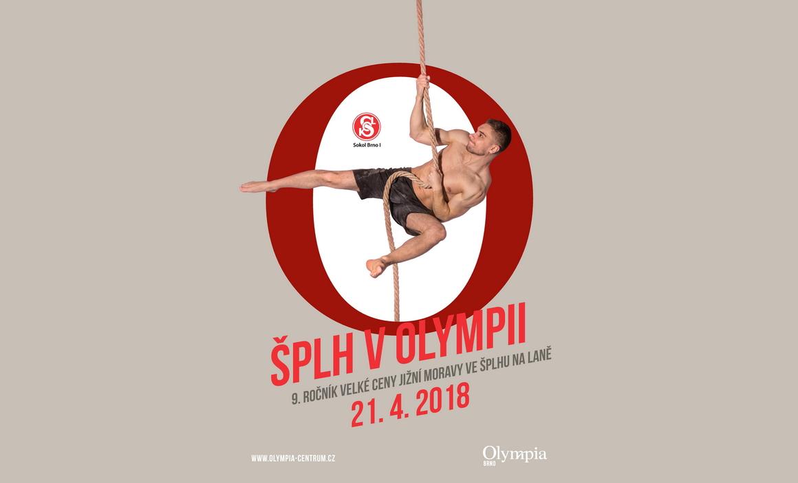 Šplh v Olympii 2018 - plakát