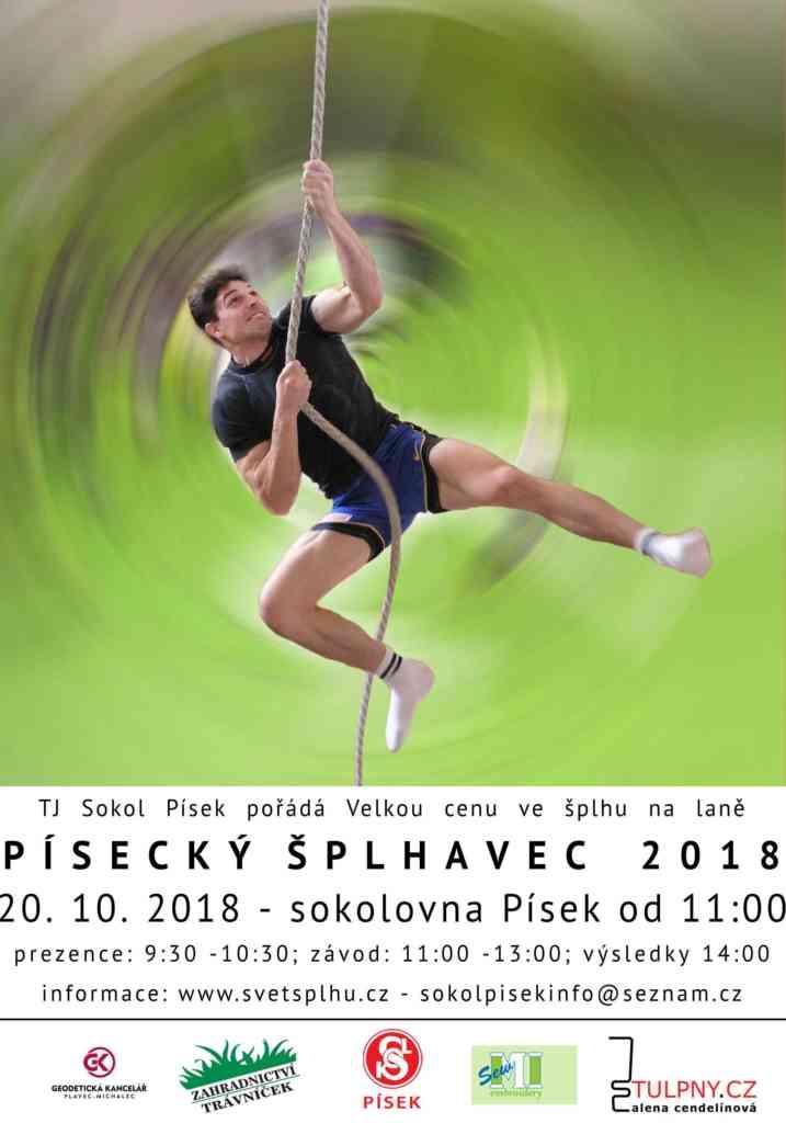 VC Písecký šplhavec 2018 - plakát