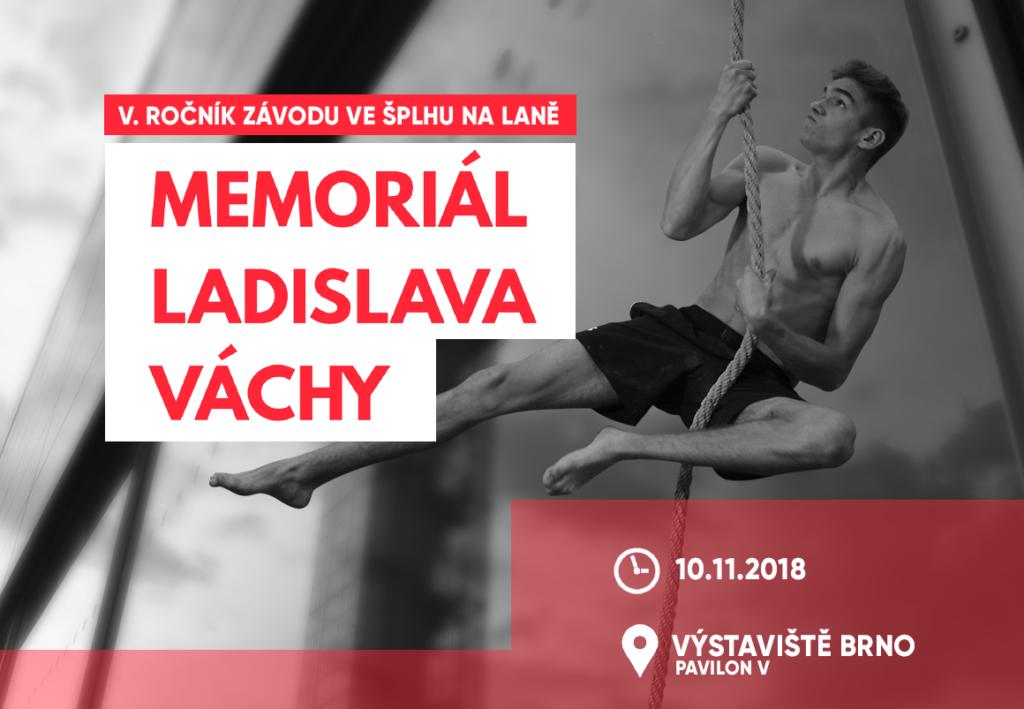 VC Memoriál Ladislava Váchy 2018 Brno SportLife- plakát