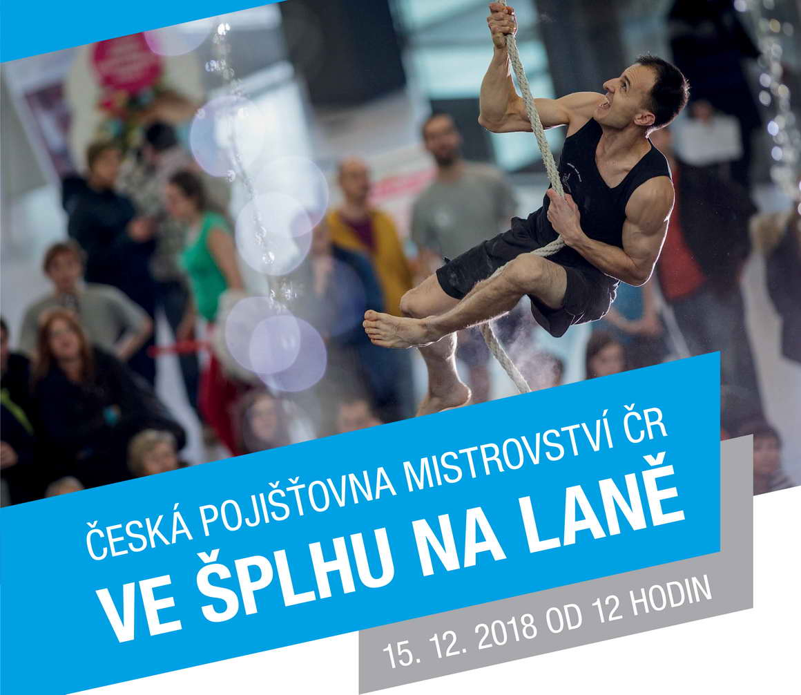Česká pojišťovna Mistrovství ČR ve šplhu na laně 2018