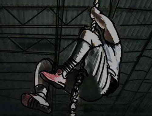 Rope Climb X – ŽIVĚ – holandské závody ve šplhu na laně (5/8/30m)
