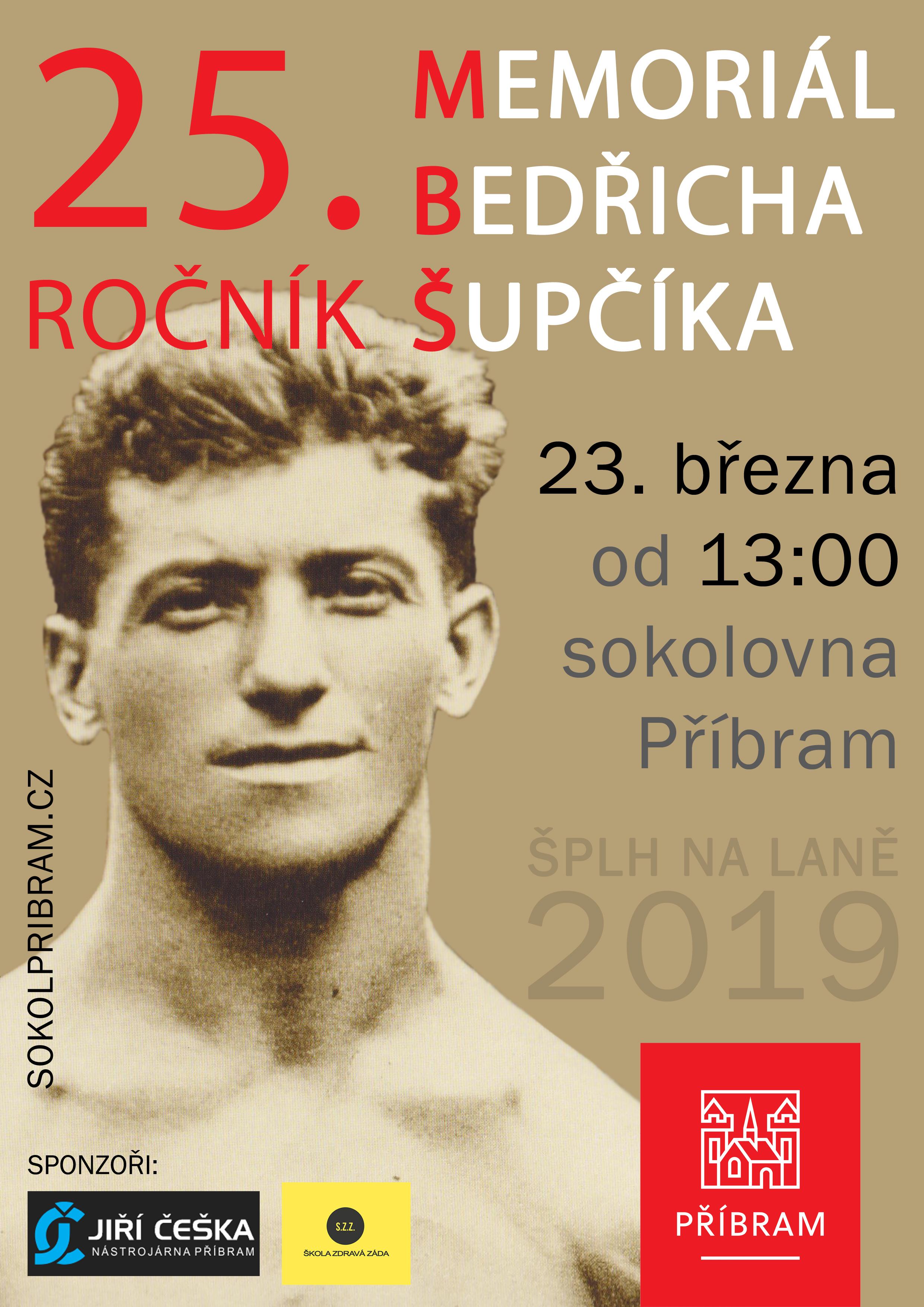 VC Memoriál Bedřicha Šupčíka 2019 - plakát