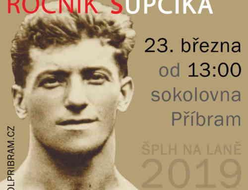 Memoriál Bedřicha Šupčíka 2019 – propozice/přihláška