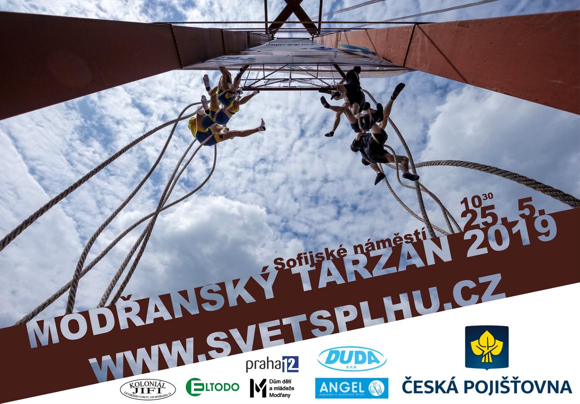 VC Modřanský Tarzan 2019 - Plakát