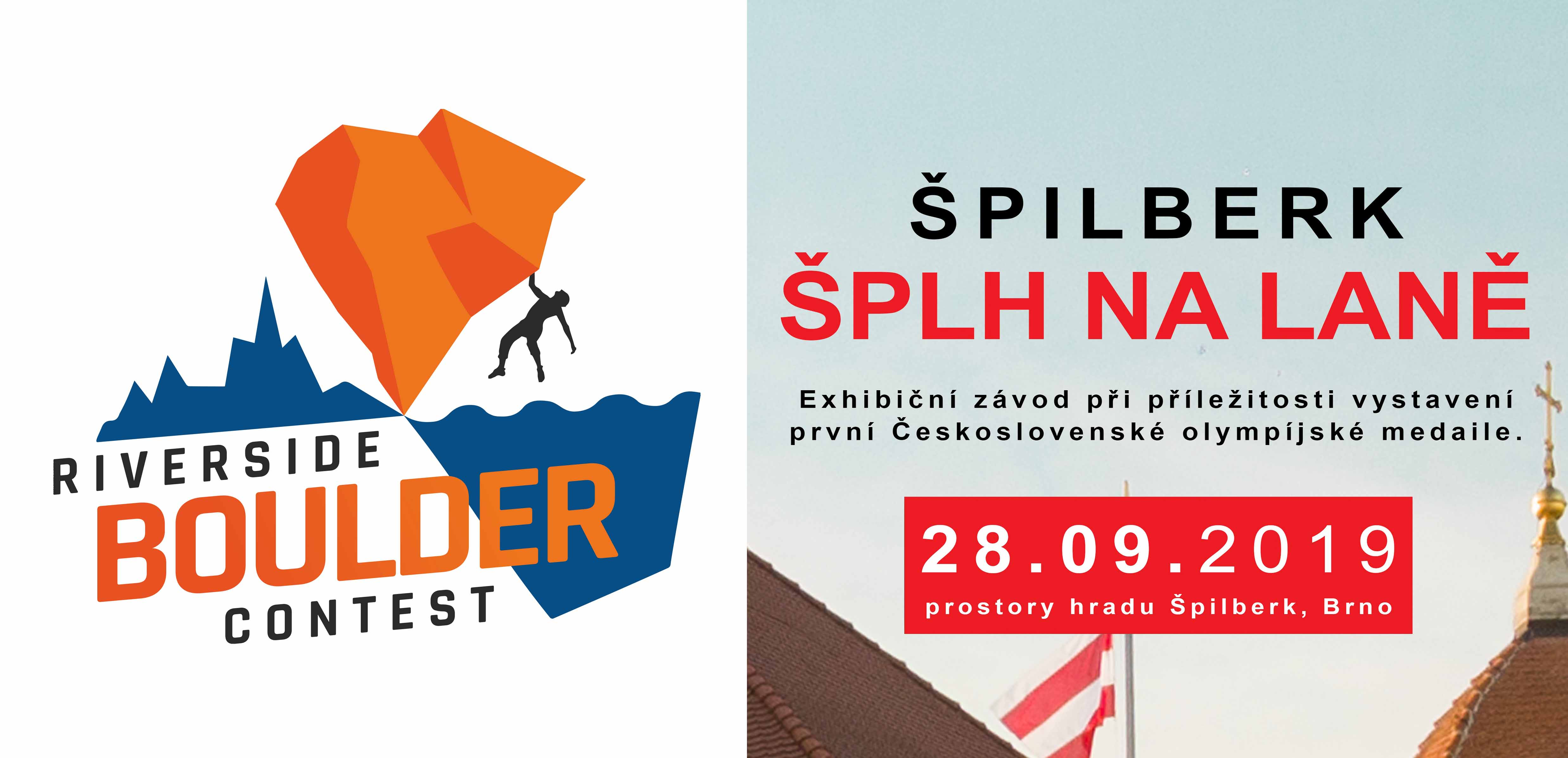 Exhibice Riverside Boulder Contest & Branky Body Brno - Špilberk 2019