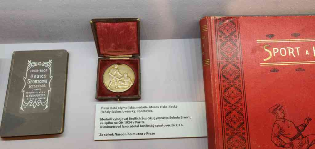 Exhibice Špilberk 2019 - Bedřich Šupčík - zlatá medaile OH Paříž 1924