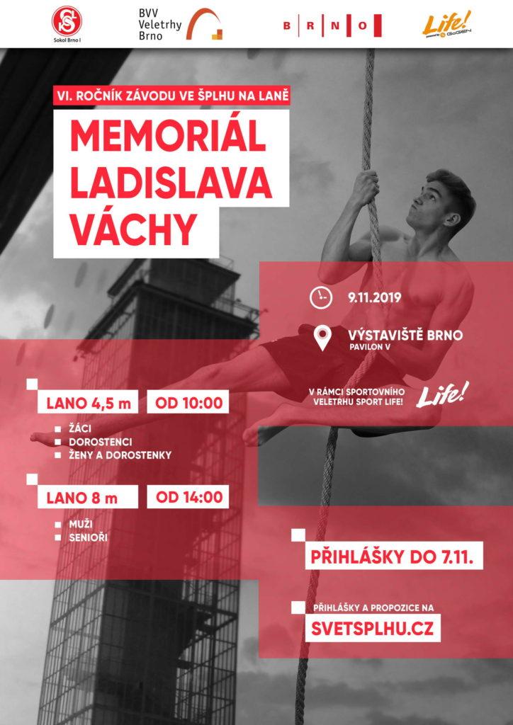 VC Memoriál Ladislava Váchy 2019 - Brno - plakát