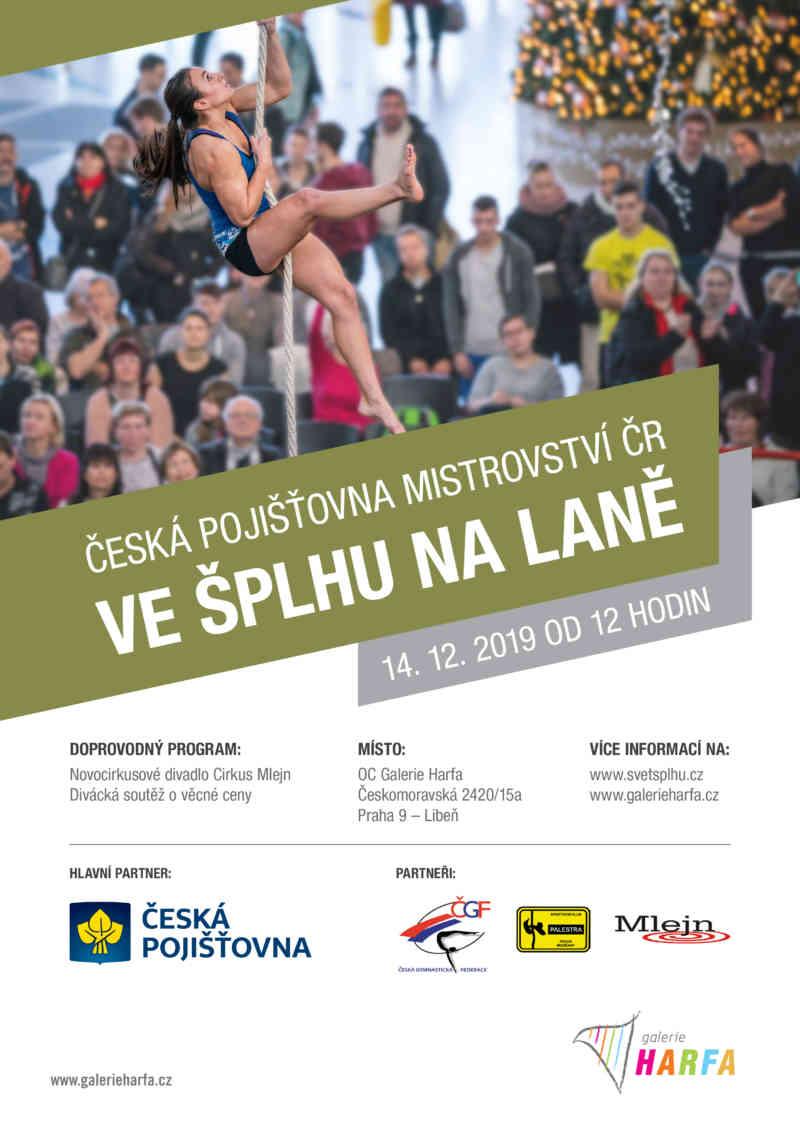 Česká pojišťovna Mistrovství ČR ve šplhu na laně 2019