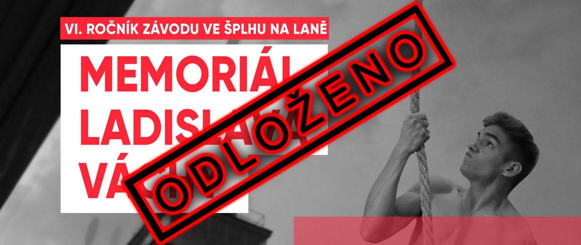 VC Memoriál Ladislava Váchy 2019 - Brno - plakát - ODLOŽENO