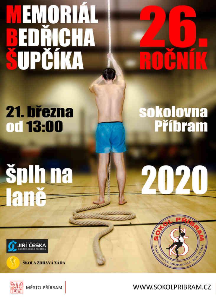 VC Memoriál Bedřicha Šupčíka 2020 - plakát