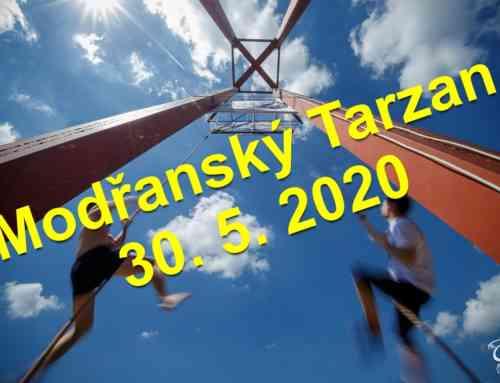 Modřanský Tarzan – změna data konání – 30. května 2020