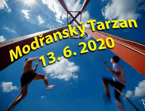 Modřanský Tarzan 2020, jakožto restart sezóny – propozice | přihláška