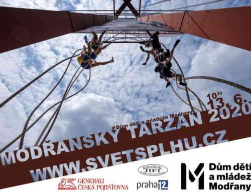 Modřanský Tarzan | restart sezóny 2020