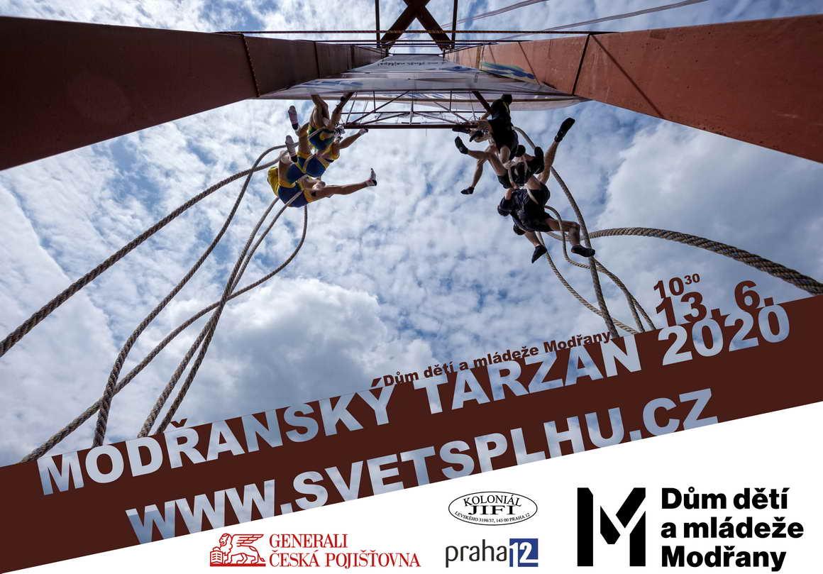 VC Modřanský Tarzan 2020 - Plakát