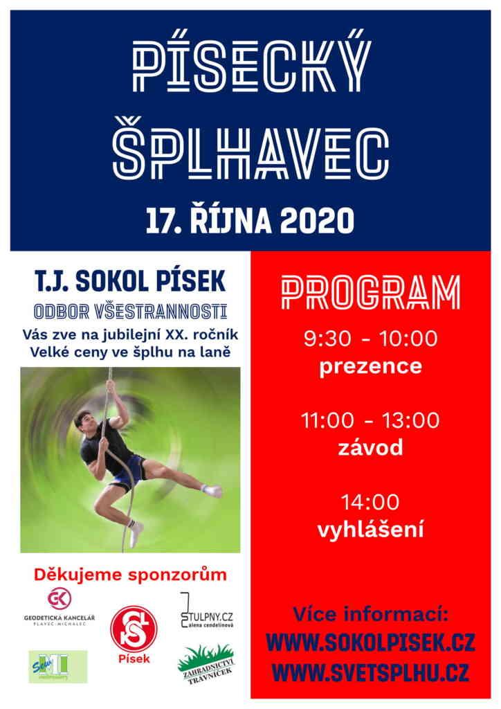 VC Písecký šplhavec 2020 - plakát