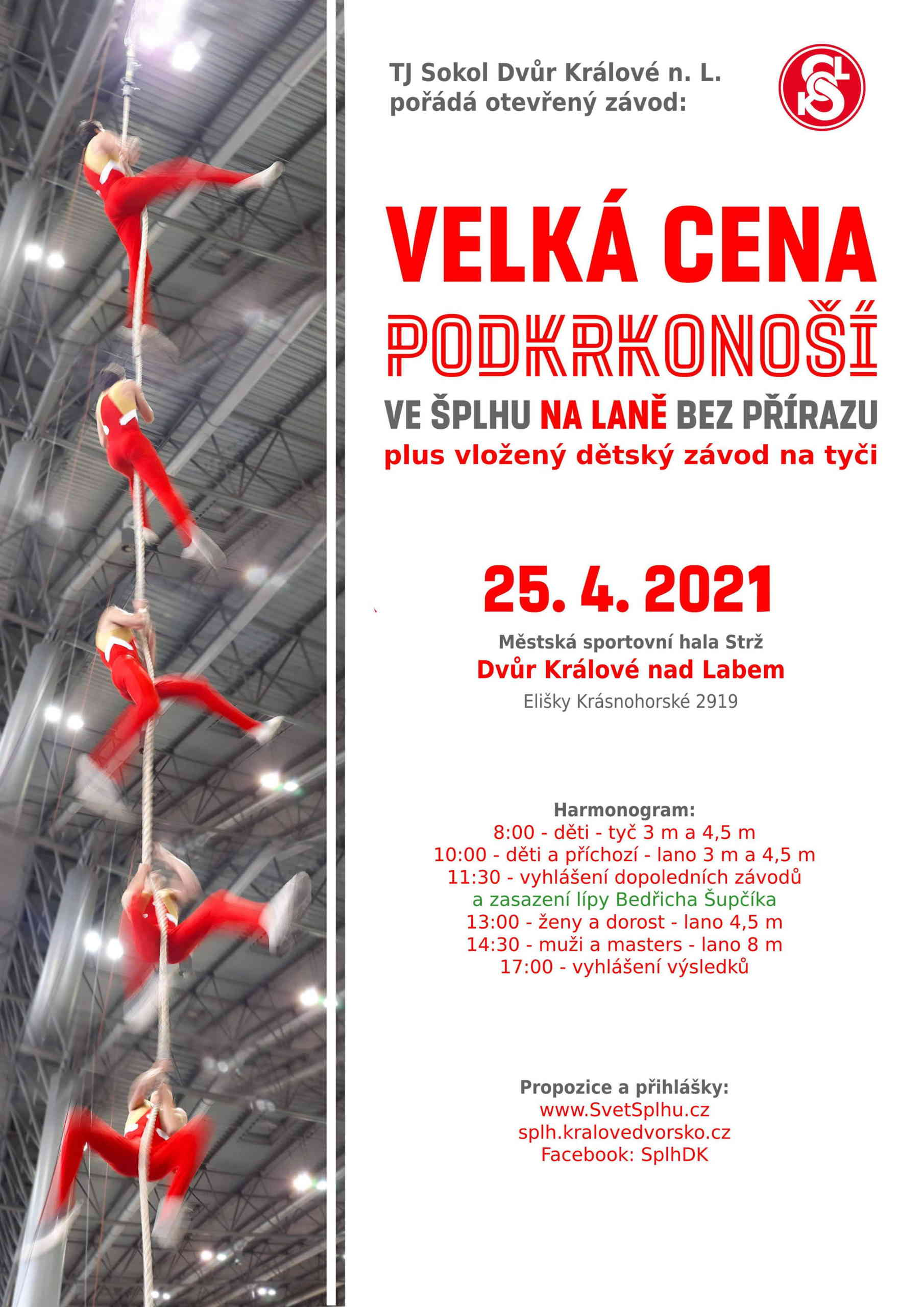 Velká cena Podkrkonoší 2021 - plakát