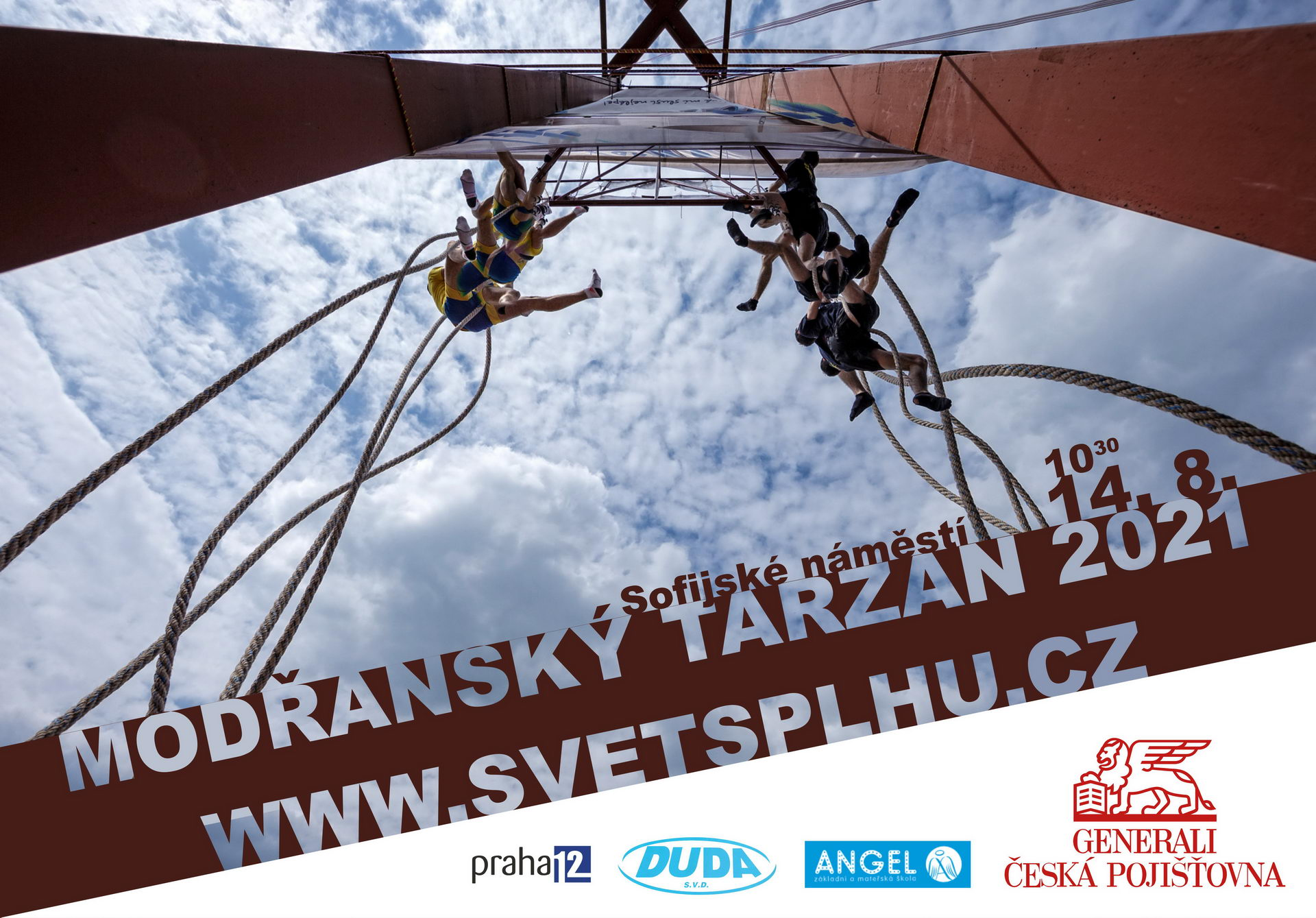 VC Modřanský Tarzan 2021 - Plakát