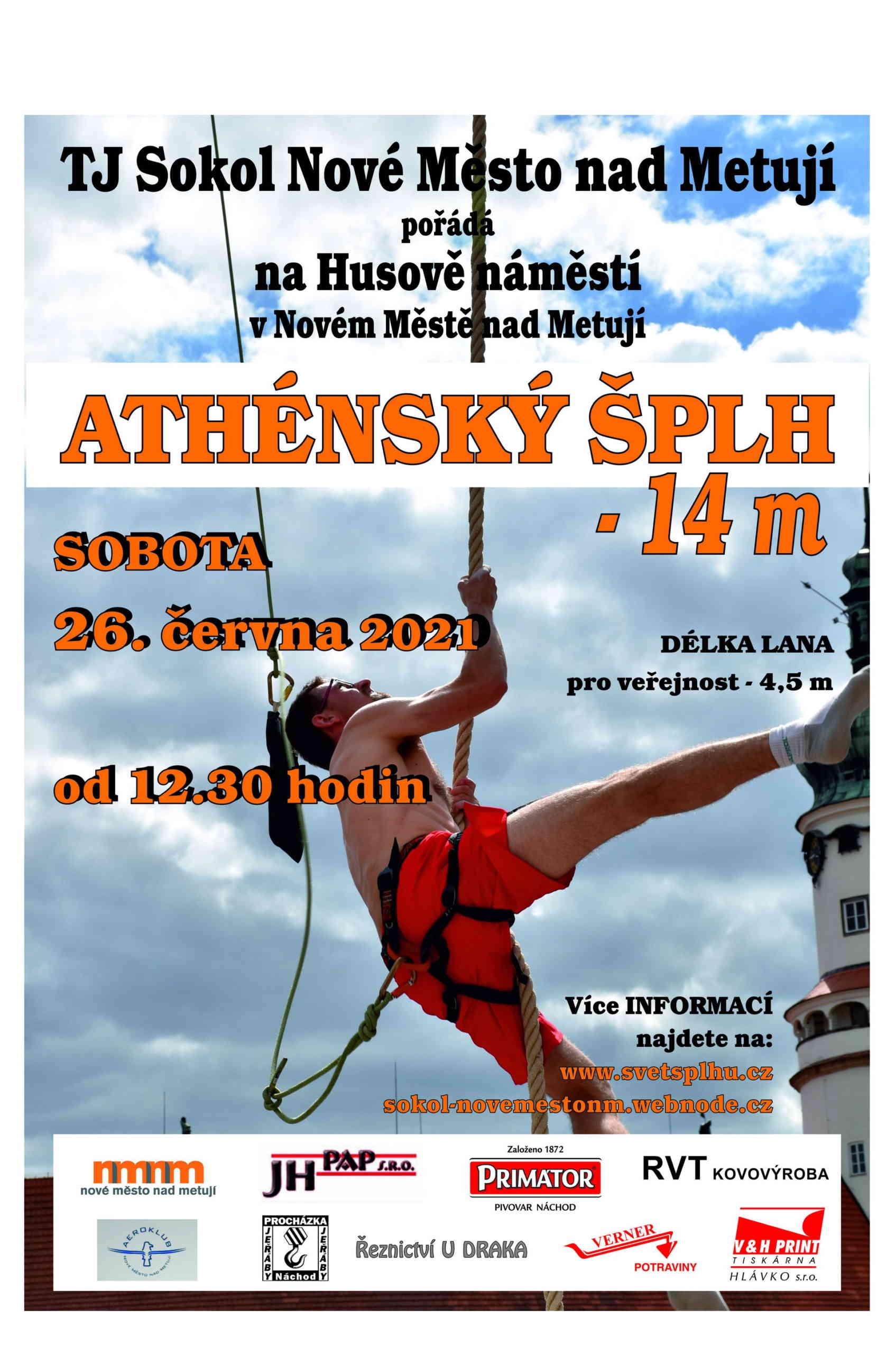Nové Město nad Metují (14 metrů) 2021 - plakát