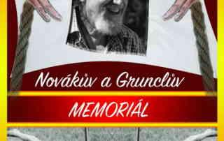 Novákův a Grunclův memoriál - Libčice 2021 - Plakát