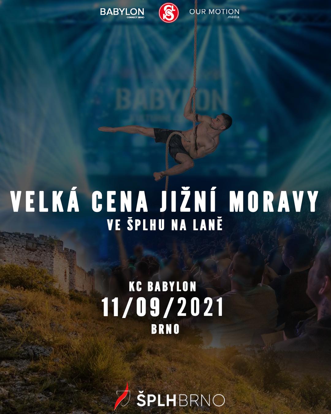 Velká cena Jižní Moravy 2021 - plakát